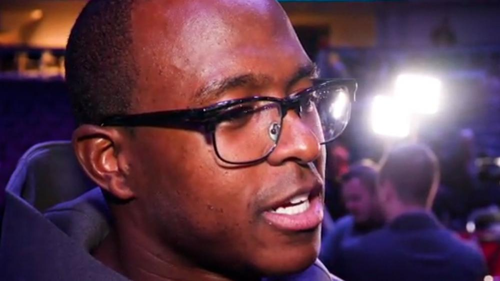 New England Patriots WR Matthew Slater. (Image courtesy: CBN Sports)