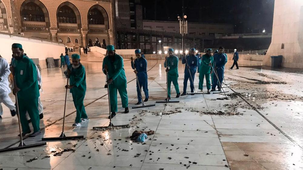 Plague of Tens of Thousands of Locusts Descends on Mecca