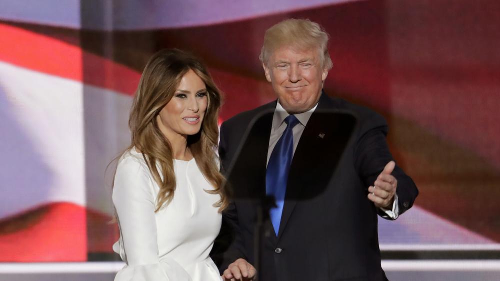Melania Trump at the RNC