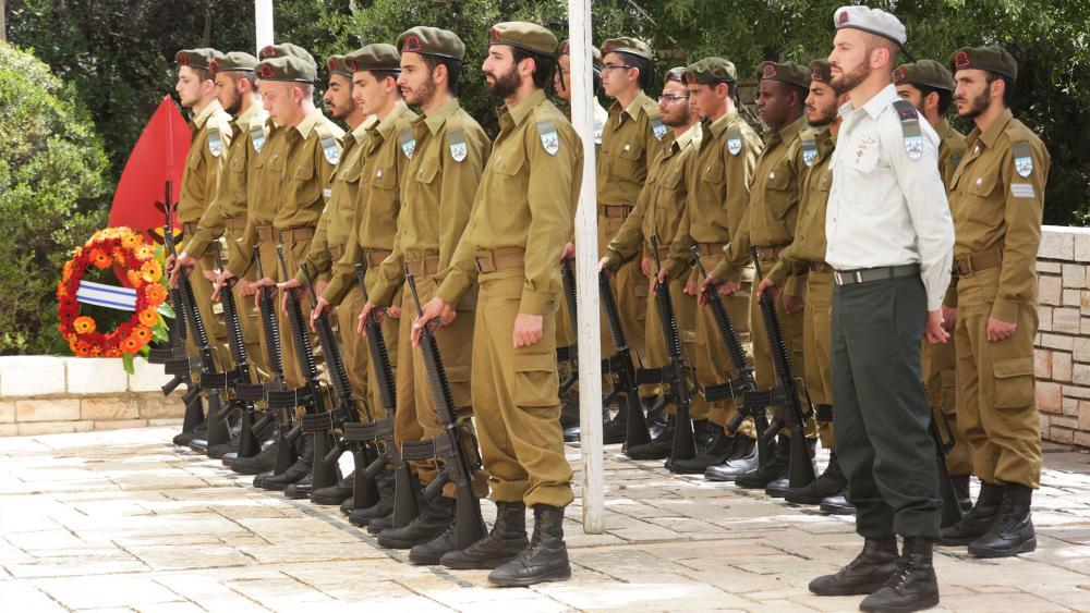 Memorial Day Ceremony, Photo, TPS, Yissachar Ruas
