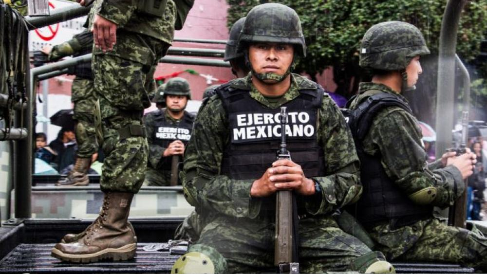 Mexican army soldiers. (Image credit: Wikimedia Commons)