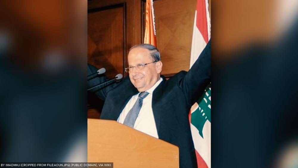 President Michel Aoun, Courtesy Wikipedia