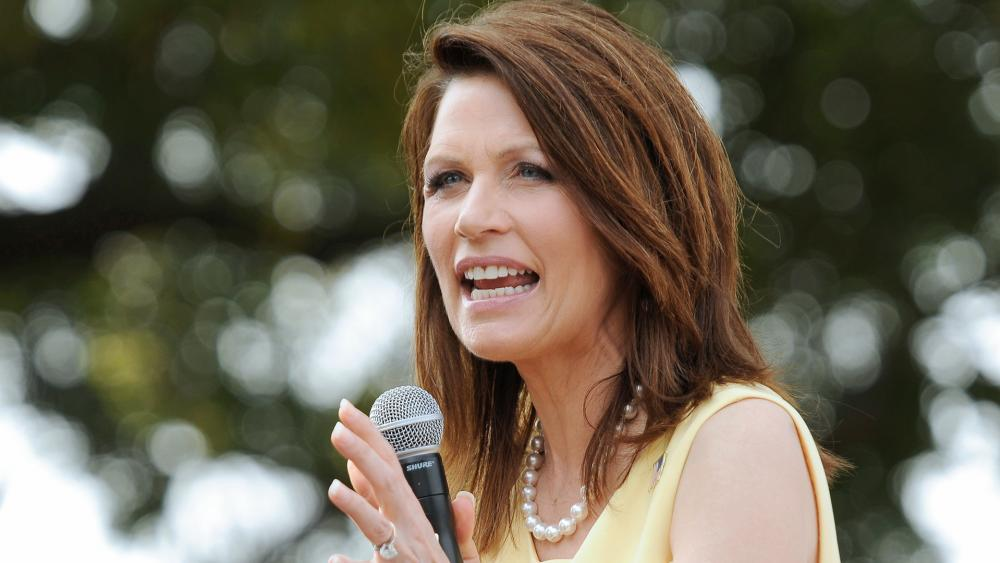 Former US Rep. Michele Bachmann will be dean of Regent's Robertson School of Government. (AP Photo/Andy Dunaway)