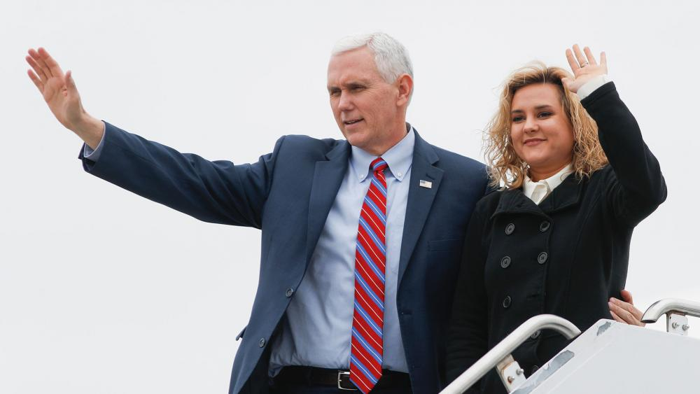 Charlotte Pence Bond, author and daughter of Vice President Mike Pence