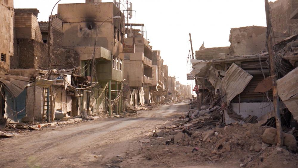 Mosul Destruction, Photo, CBN News, Jonathan Goff