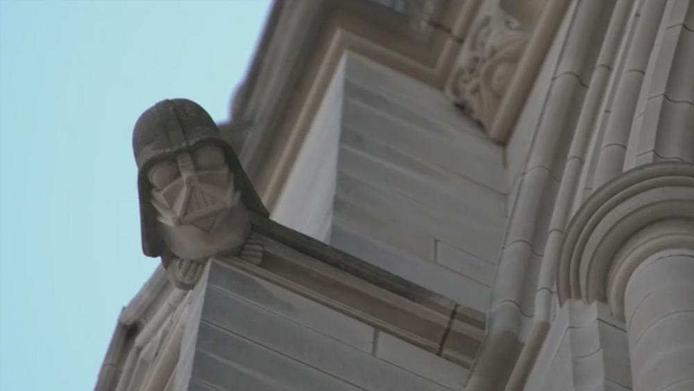 Darth Vader on Washington's National Cathedral