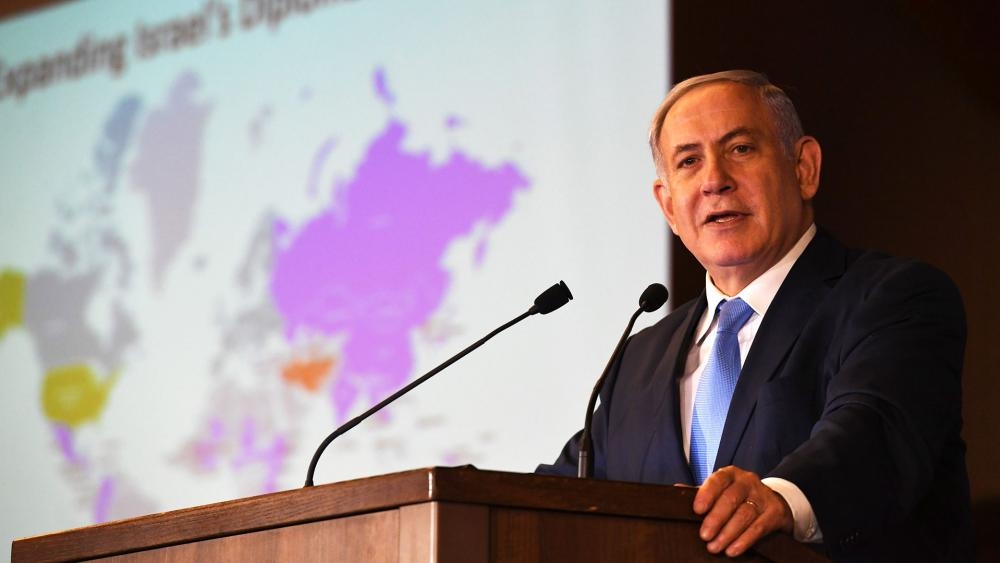 Israeli Prime Minister Benjamin Netanyahu Addresses Conference of the Presidents of Major Jewish Organizations, Photo, GPO, Kobi Gideon