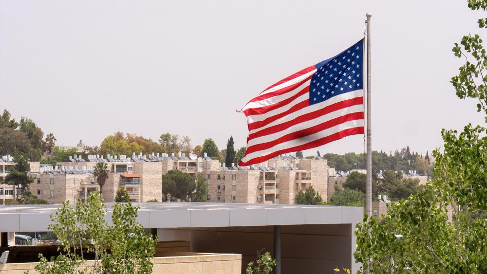 Soon-to-be US Embassy in Jerusalem, Photo, CBN News, Jonathan Goff
