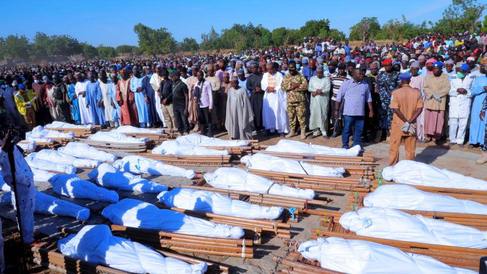 Islamic Terror Group Boko Haram Members Suspected of Murdering 110 Nigerian Farmers thumbnail