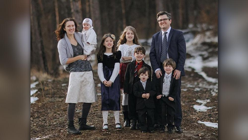 The Bodnariu family. (Image credit: ADF International)