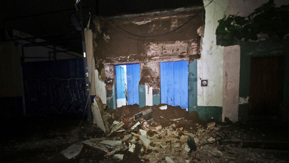 Debris from 8-Magnitude Earthquake in Oaxaca, Mexico, Photo, AP