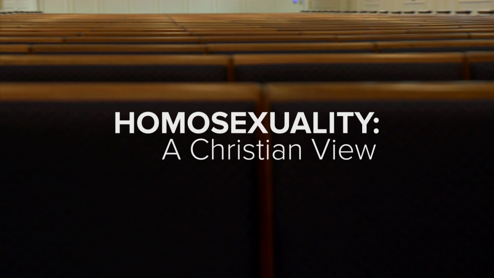 Homesexuality and christianity