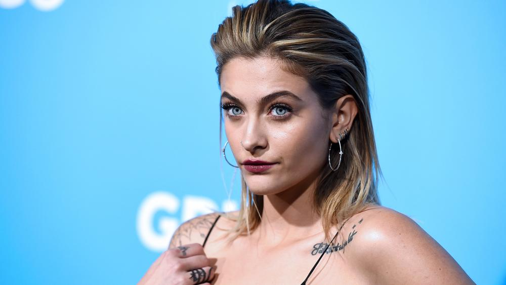 Paris Jackson, daughter of the late Michael Jackson, is the actress playing Jesus in the controversial film Habit (Photo by Jordan Strauss/Invision/AP)