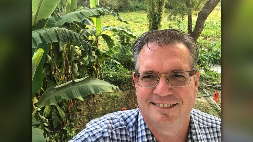 Pastor Bryan Nerren was detained in India and is now stranded (Photo courtesy: Bryan Nerren/Facebook)