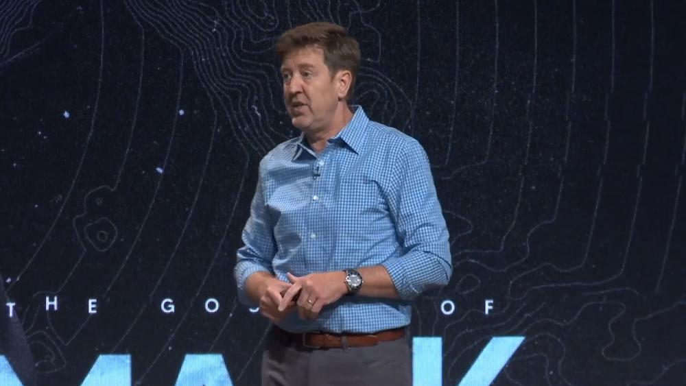 Image Source: YouTube Screenshot/Pastor Gary Hamrick/Cornerstone Chapel