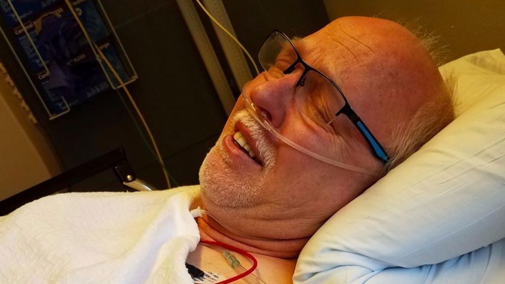 I Saw These Swirling Lights': Double Lung Transplant Pastor