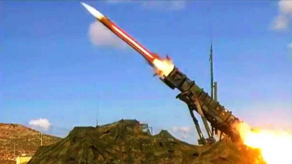 Patriot Missile Launch, Illustrative
