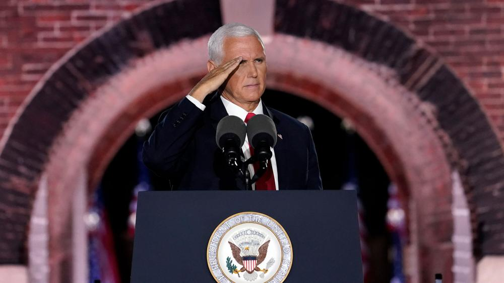 Vice President Mike Pence Delivers His Convention Speech