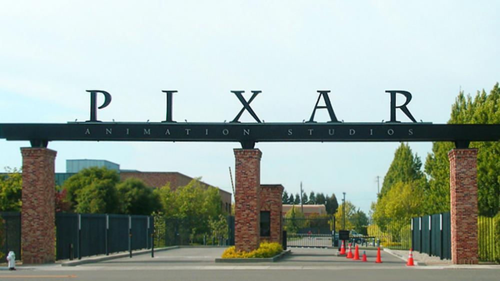 La entrada al lote del estudio de Pixar en Emeryville, California. (Crédito de la imagen: P. Gobin / Wikimedia Commons)