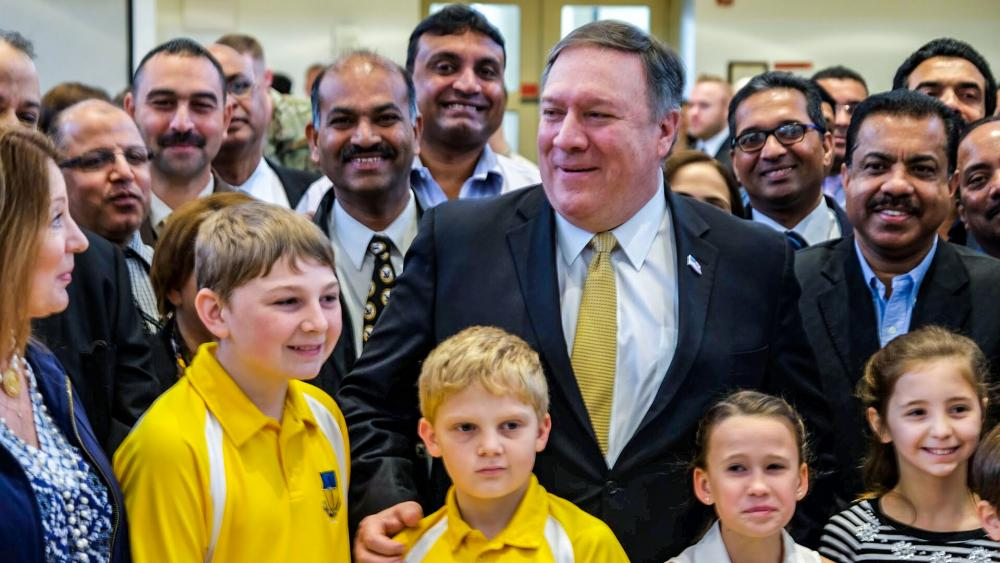 US Secretary of State Mike Pompeo. (Image courtesy: CBN News)