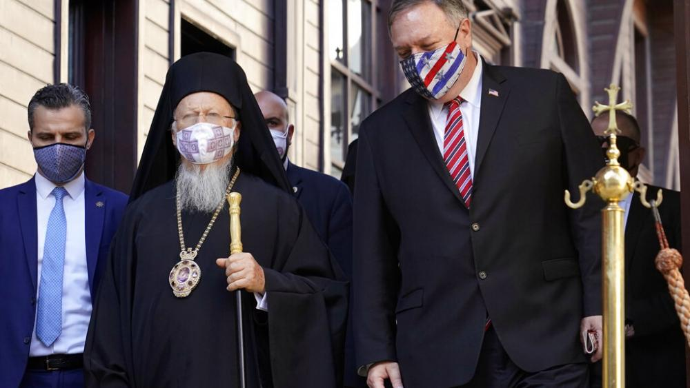 Pompeo's Istanbul Visit Highlights Religious Freedom, Draws Rebuke from Turkey's Foreign Ministry thumbnail