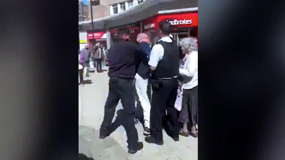 Elderly Preacher Roughed Up, Arrested for Preaching Biblical Marriage on UK Street picture