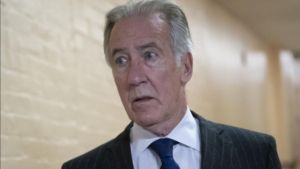 In this April 2, 2019, photo, House Ways and Means Committee Chairman Richard Neal, D-Mass., arrives for a Democratic Caucus meeting at the Capitol in Washington. (AP Photo/J. Scott Applewhite)