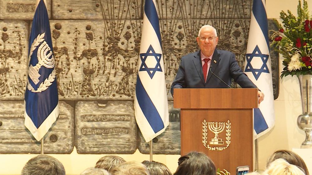 Israeli President Reuven Rivlin Address Christian Media Summit, Photo, CBN News