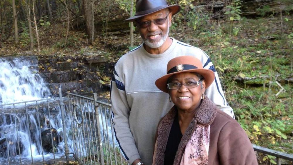 "Robert ""Bob"" Williams and his wife Judith.  Photo Credit: Robert ""Bob"" Williams/Facebook."