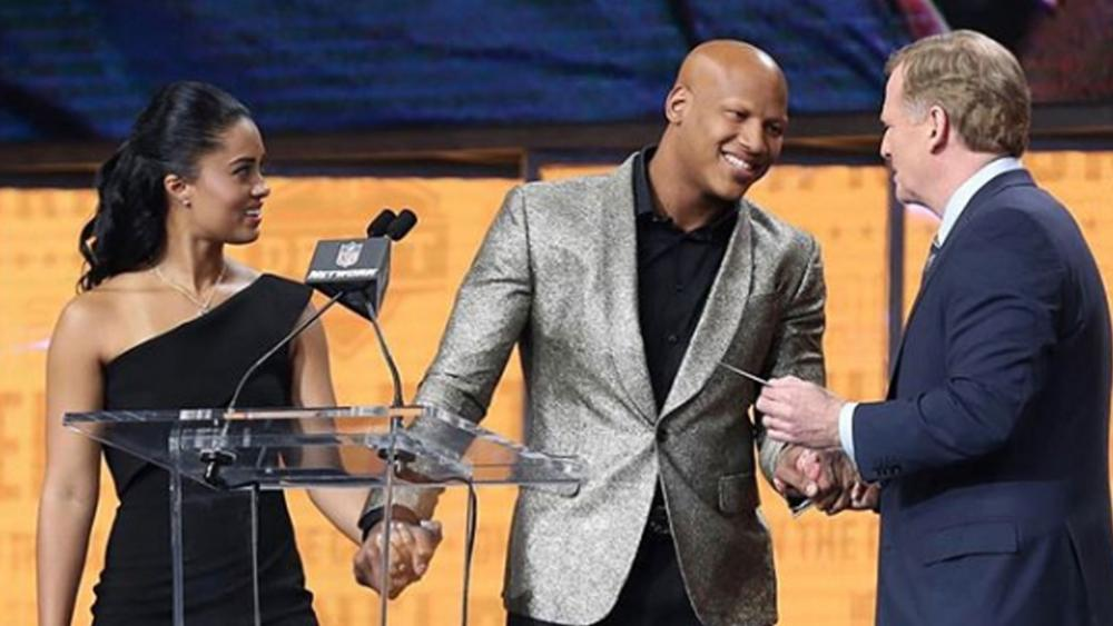 eaf70f27a3d Ryan Shazier showed his determination in April of 2018 when he walked  across the stage during