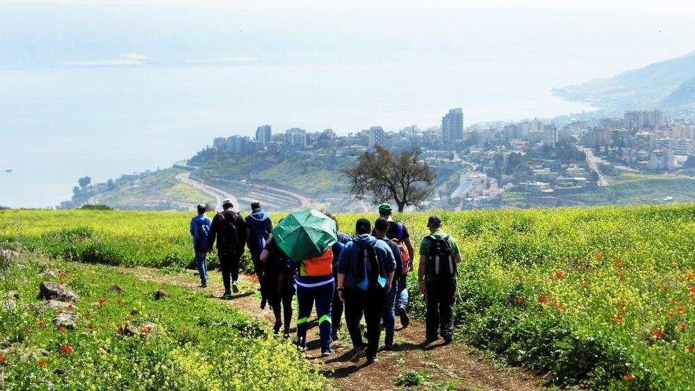 Israeli Youth Prepare the Sanhedrin Trail, Photo, IAA