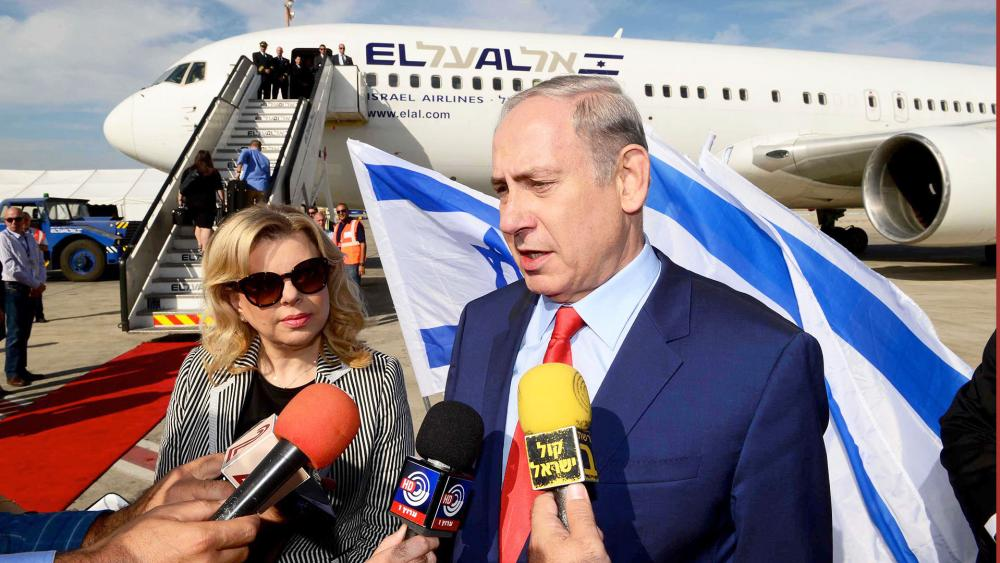 Prime Minister Benjamin Netanyahu and His Wife, Sara, Photo, GPO, Avi Ohayon