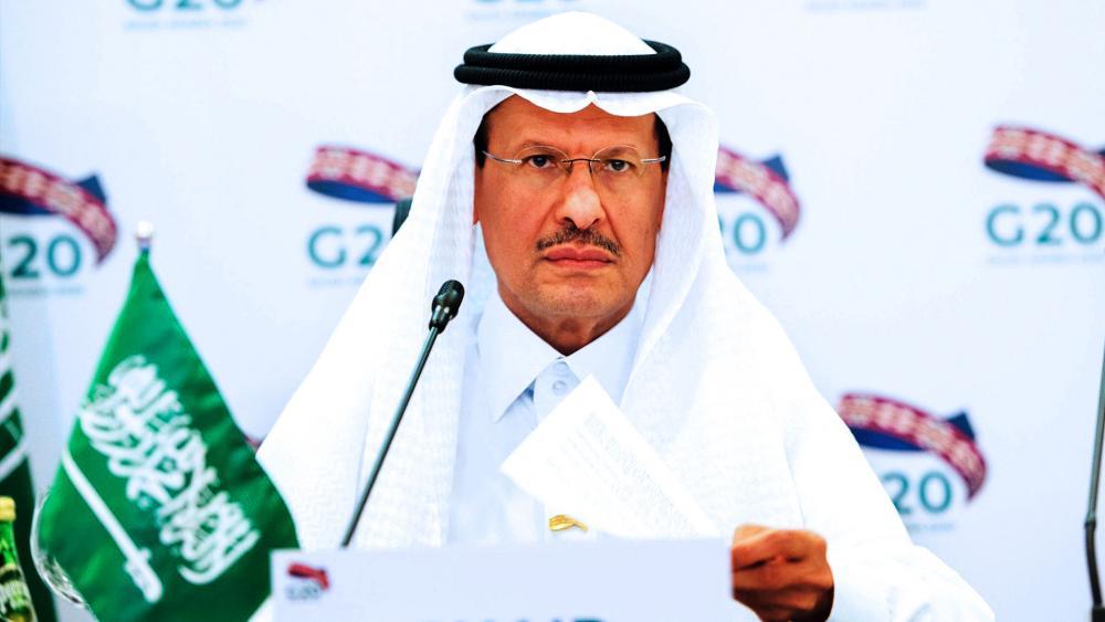 Prince Abdulaziz bin Salman Al-Saud, Minister of Energy of Saudi Arabia