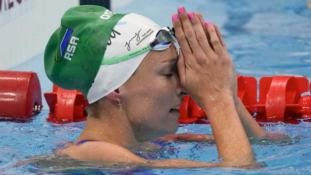 Record-Setting South African Olympic Swimmer Tatjana Schoenmaker Gives God the Glory