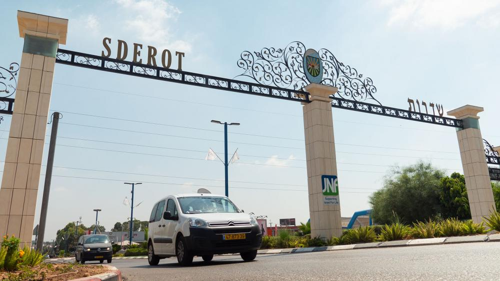 Welcome to Sderot, Photo, CBN News, Jonathan Goff