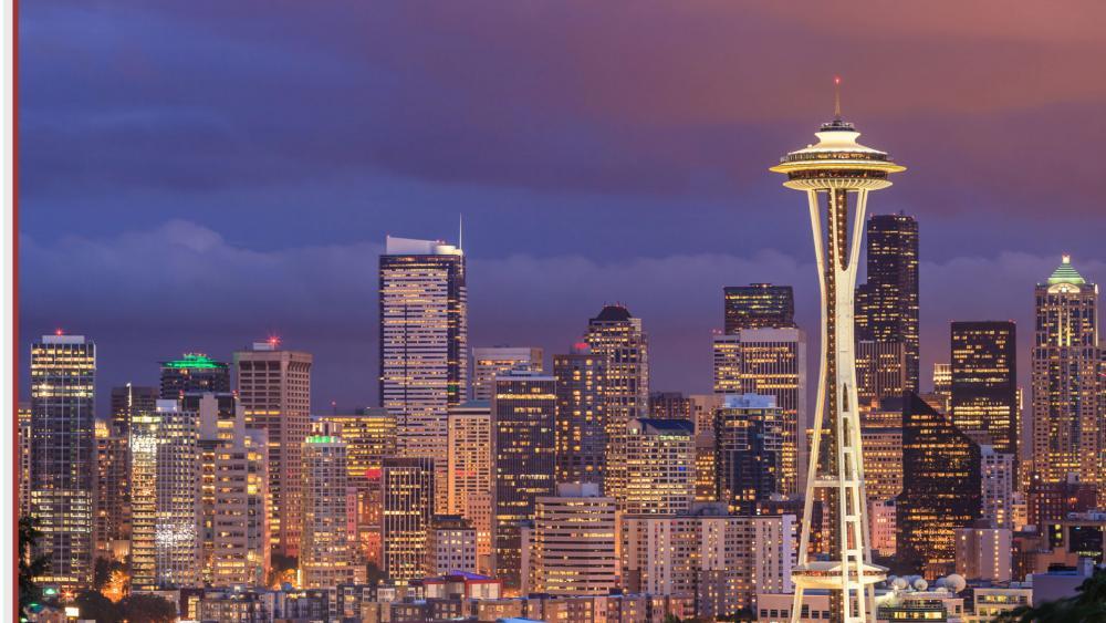 The skyline of Seattle, Washington. (AP Photo)