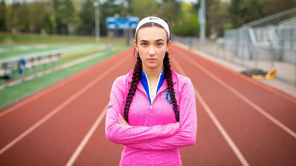 High school athlete Selina Soule, who competes within the Connecticut Interscholastic Athletic Conference. (Image credit: Alliance Defending Freedom)