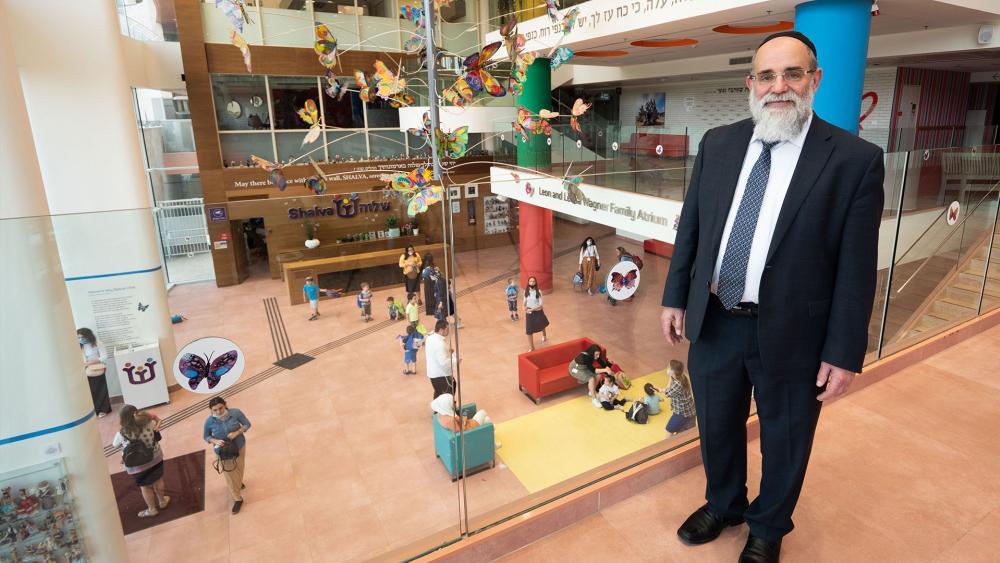 Rabbi Kalman Samuels, Founder of Shalva and Author of Dreams Never Dreamed. Photo: Jonathan Goff, CBN News