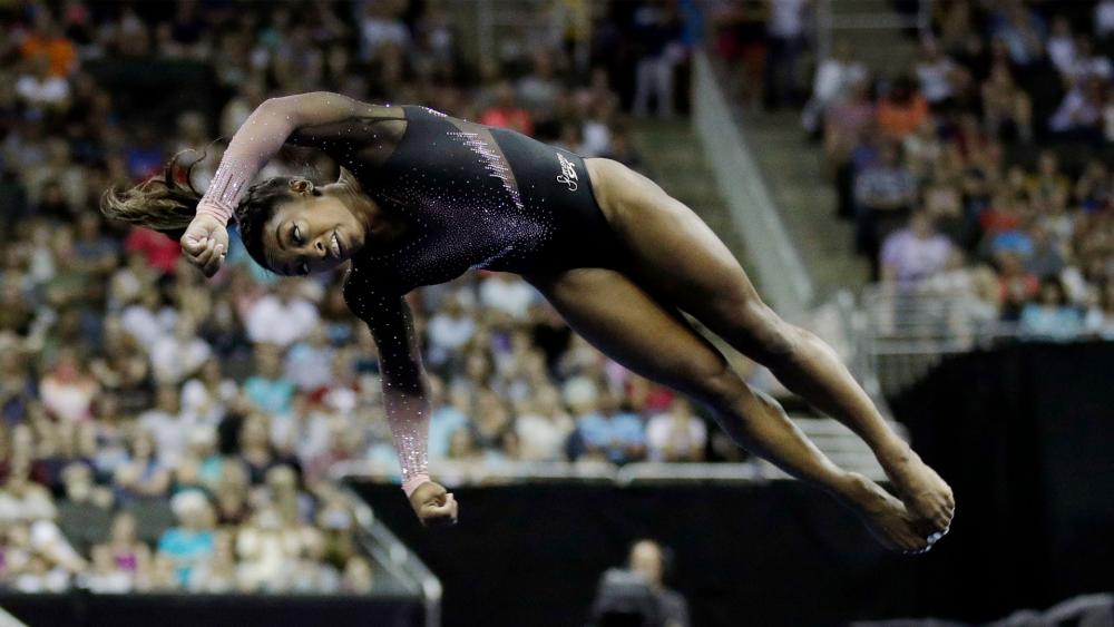 Image credit: Simone Biles (AP Photo)