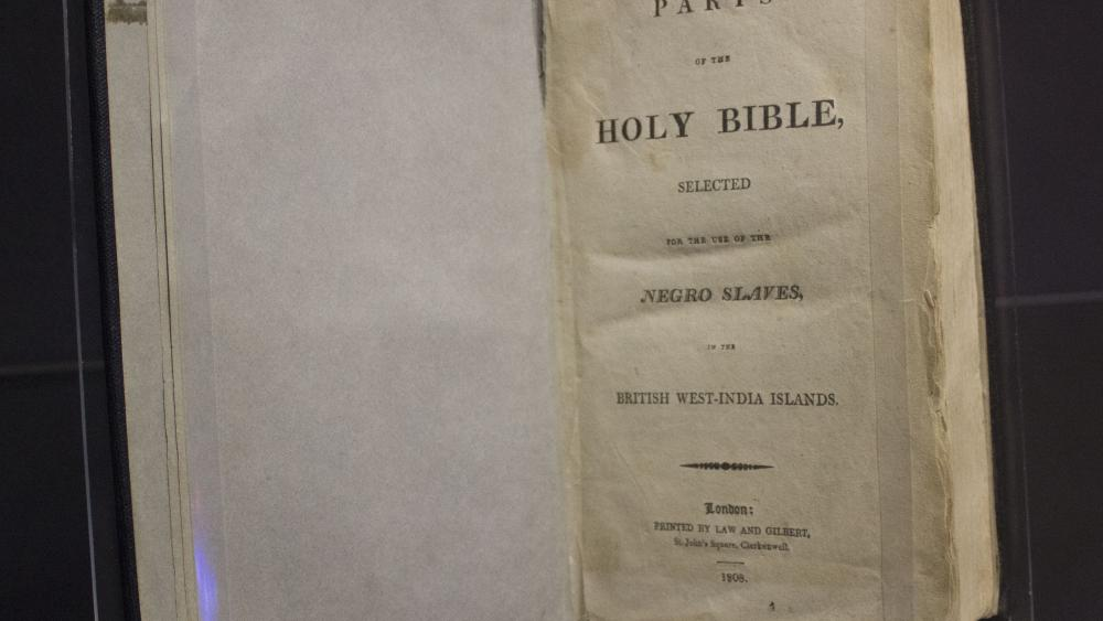The Shocking 'Slave Bible': Here Are the Parts That Were
