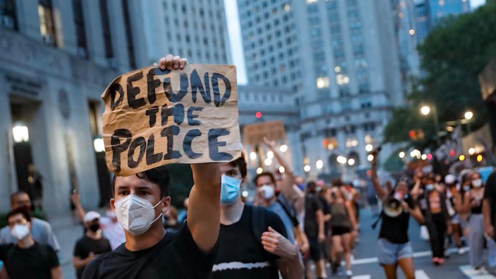 Defund the Police Demonstration