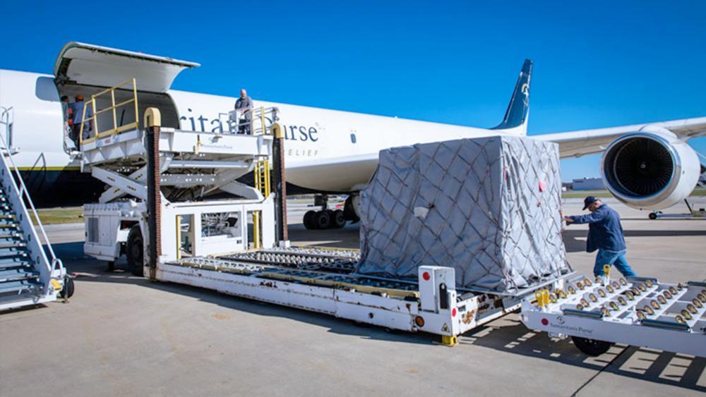 Samaritan's Purse Sends Plane Full of Relief Supplies to Help Armenian Refugees thumbnail