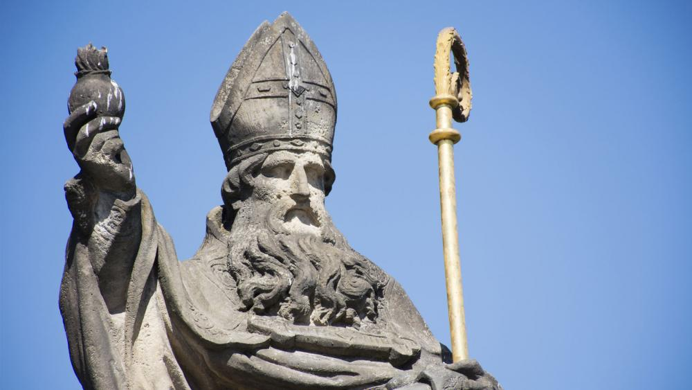 Statute of St. Augustine of Hippo. (Image credit: Adobe)