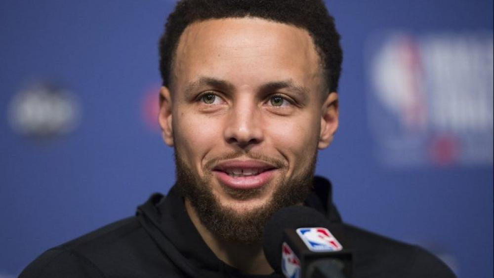Steph Curry's newly-formed production company already has several projects under its belt including a major studio film, network television show and a couple documentaries in just a year. (Nathan Denette/The Canadian Press via AP, File)