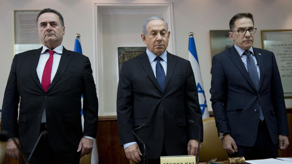 Israeli Ministers Observe Moment of Silence for Victims of Shooting Attack at Etz Chayim Synagogue in Pittsburgh