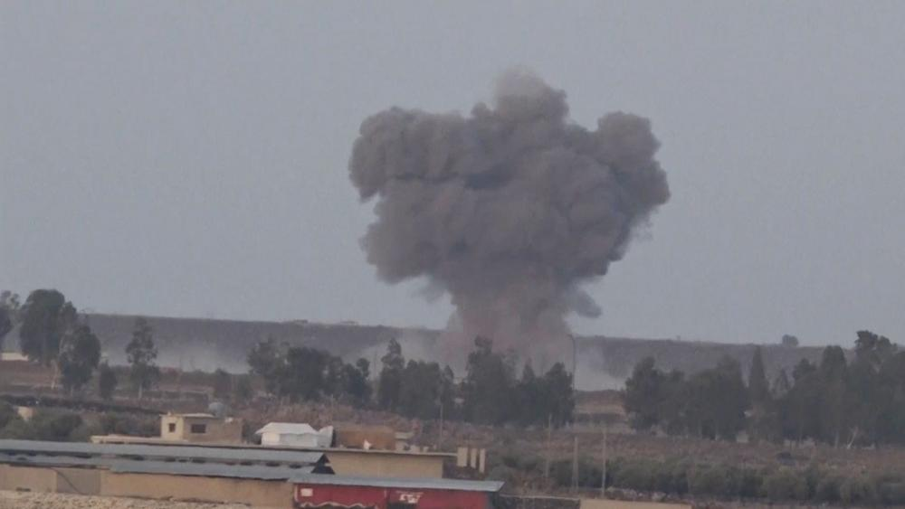Israel Downs a Syrian Jet that Infiltrated its Airspace, Photo, AP
