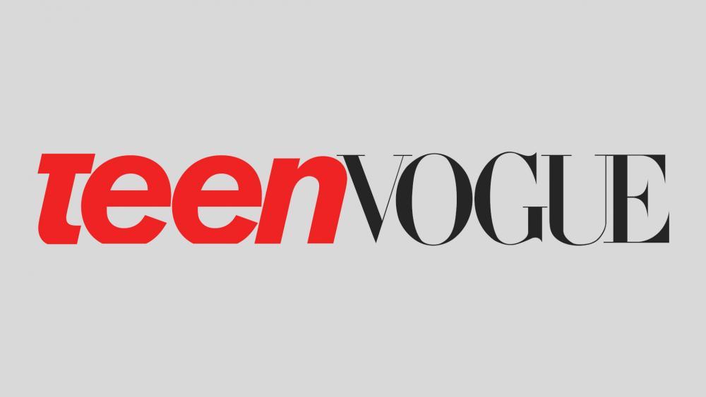 Teen Vogue logo.