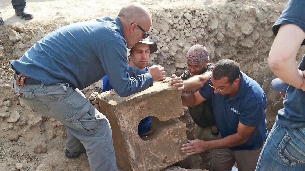 Tel Lachish, Courtesy IAA