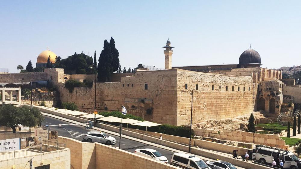 Jerusalem's Old City Walls, Photo, Israel Police Spokesman's Office