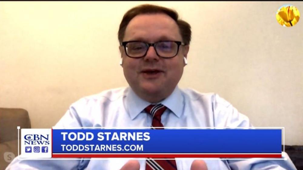 Todd Starnes. (Image credit: CBN News)